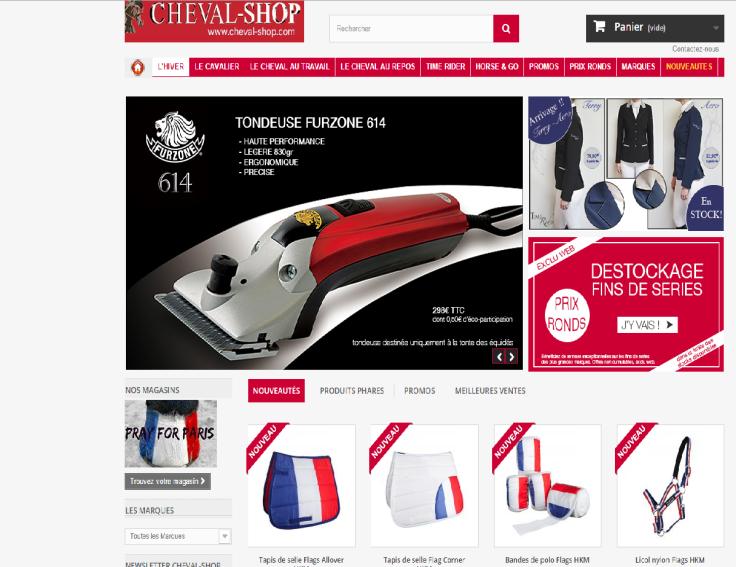 Cheval-Shop patriotique