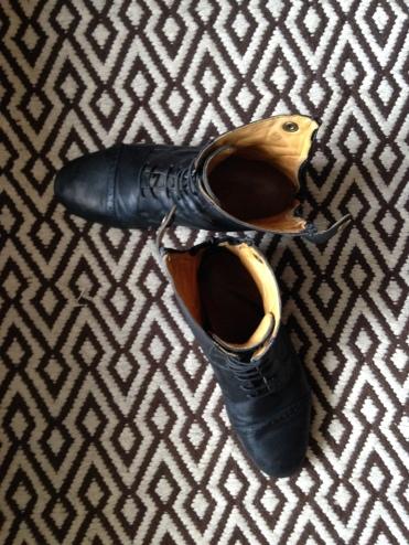 Des boots toutes propres !