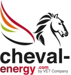 CHEVAL ENERGY by VET COMPANY logo