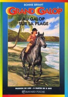 grand galop à cheval sur la plage bayard poche