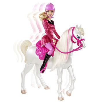 jouet-barbie-et-son-cheval-9